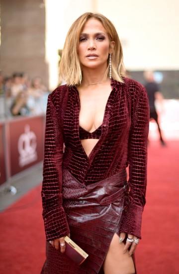 Jennifer Lopez in Roberto Cavalli Fall 2018-1