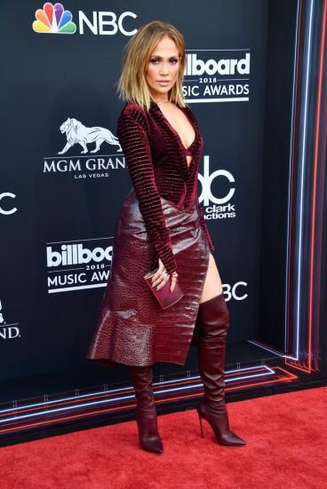 Jennifer Lopez in Roberto Cavalli Fall 2018-2