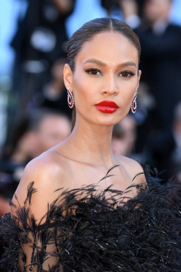 Joan Smalls in Roberto Cavalli Couture-1