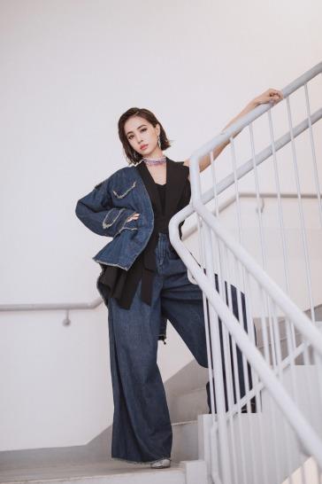 Jolin Tsai in The Keiji NY Spring 2018-2