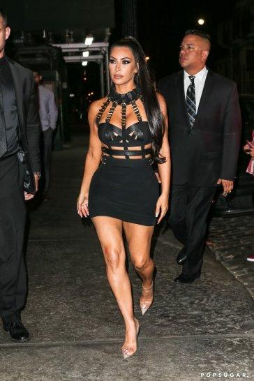 Kim Kardashian in Versace Fall 1992-1