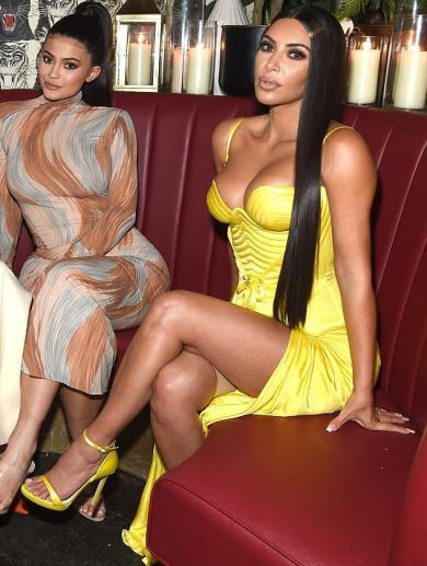 Kim Kardashian in Versace Spring 1995-1