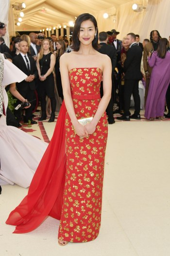 Liu Wen in Michael Kors