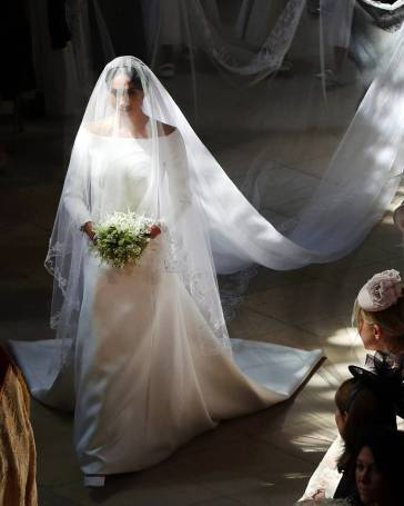 Meghan in Givenchy Wedding Dress-1