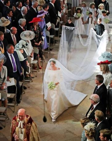 Meghan in Givenchy Wedding Dress