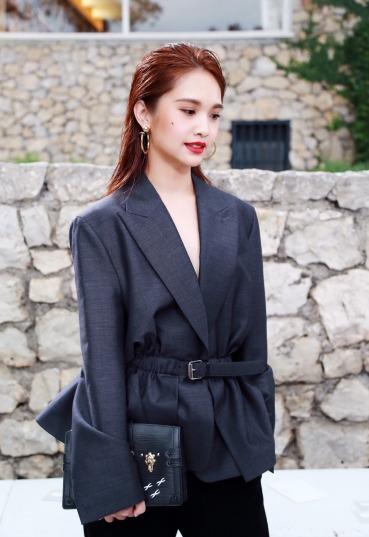 Rainie Yang in Louis Vuitton Pre-Fall 2018-2
