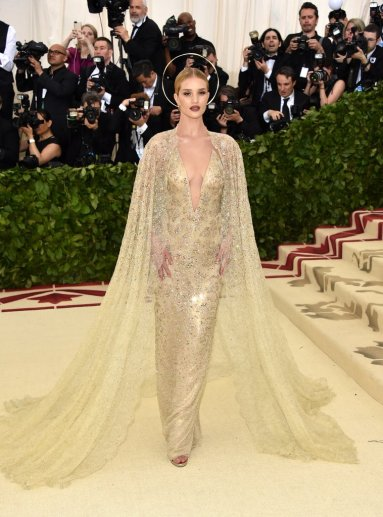 Rosie Huntington-Whiteley in Ralph Lauren