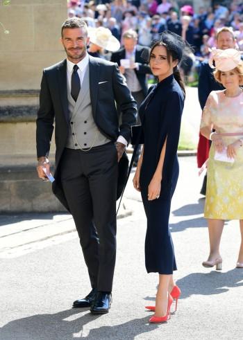 Victoria Beckham & David Beckham in Dior Homme-1