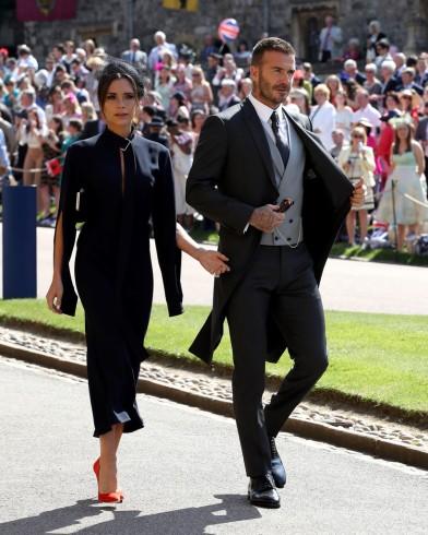 Victoria Beckham & David Beckham in Dior Homme-2