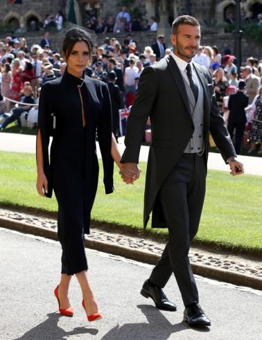 Victoria Beckham & David Beckham in Dior Homme