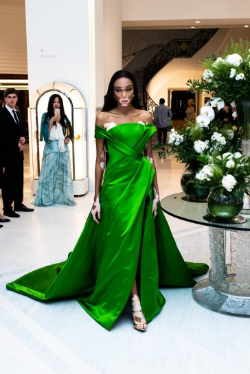 Winnie Harlow in Ralph & Russo Spring 2018 Couture-4