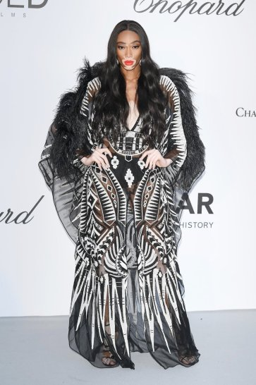 Winnie Harlow in Zuhaie Murad Spring 2018 Couture-3