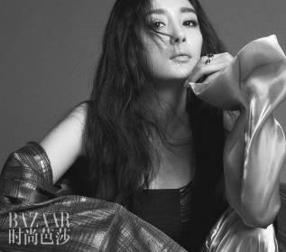 Yang Mi for Harper's Bazaar China June 2018-2