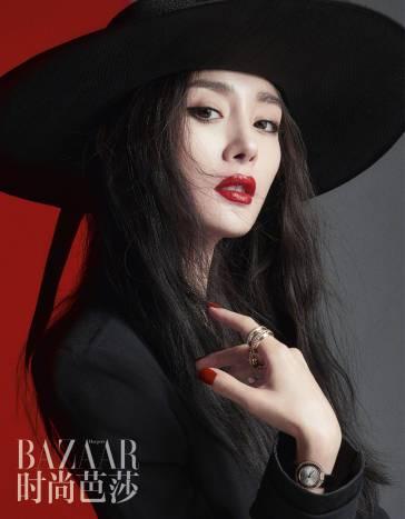 Yang Mi for Harper's Bazaar China June 2018-6