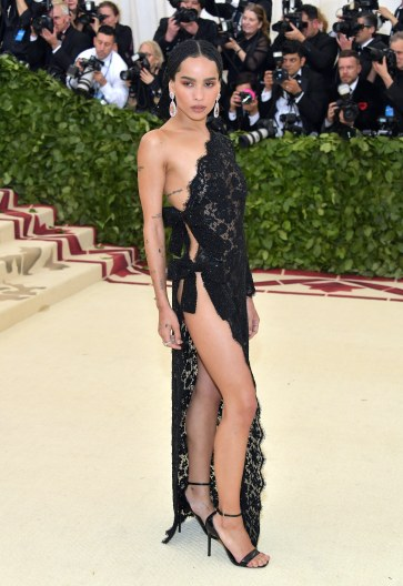 Zoe Kravitz in Saint Laurent-1