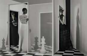 Amanda Googe & Oumie Jammeh X Dior Magazine #23 2018-6