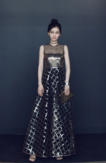Angelababy in Dior Pre-Fall 2018