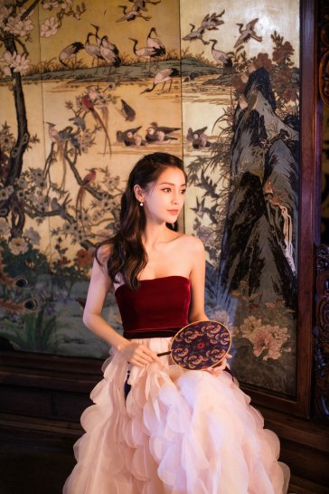 Angelababy in Oscar de la Renta Fall 2018-3