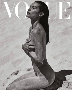 Bella Hadid for Vogue Mexico July 2018 Cover B