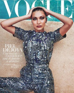 Bella Hadid for Vogue Mexico July 2018 Cover C
