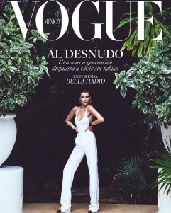 Bella Hadid for Vogue Mexico July 2018 Cover D