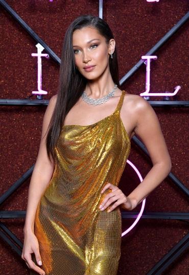Bella Hadid in Atelier Versace-2