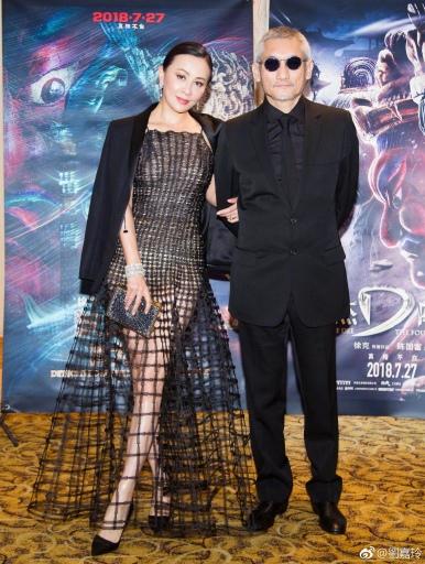 Carina Lau in Dior Spring 2018 Couture