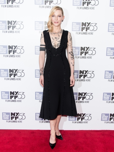 Cate Blanchett in Aouadi Fall 2015 Couture-2015NYFF
