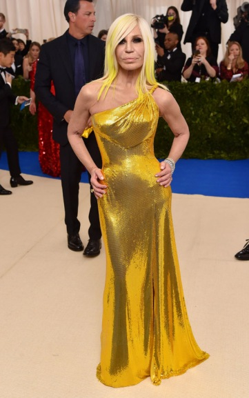 Donatella Versace Met Gala 2017