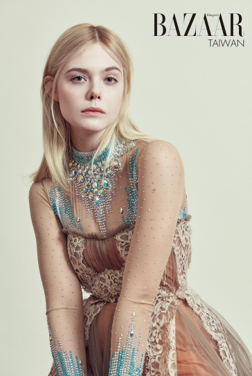 Elle Fanning for Harper's Bazaar Taiwan July 2018-1