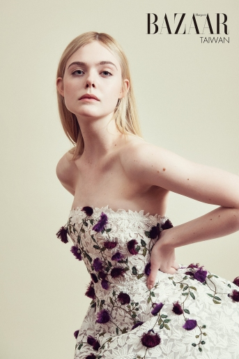 Elle Fanning for Harper's Bazaar Taiwan July 2018-3