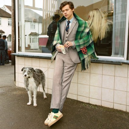 Harry Styles for Gucci Tailoring Pre-Fall 2018 Campaign-4