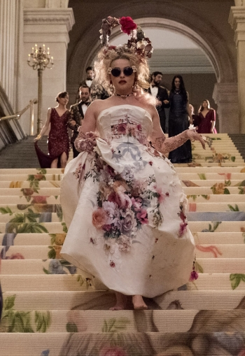 Helena Bonham Carter in Dolce&Gabbana Alta Moda Fall 2012