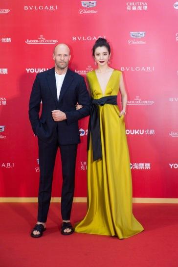 Jason Statham with Li Bing Bing