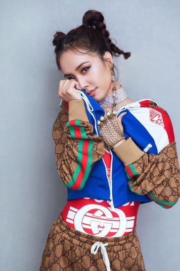 Jolin Tsai in Gucci Pre-Fall 2018-3