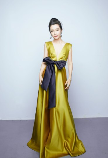 Li Bing Bing in Dice Kayek Fall 2018-2