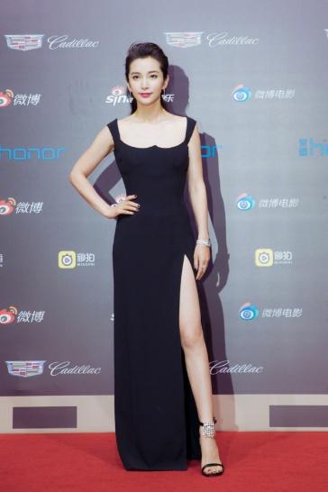 Li Bing bing in Versace Spring 2018-1