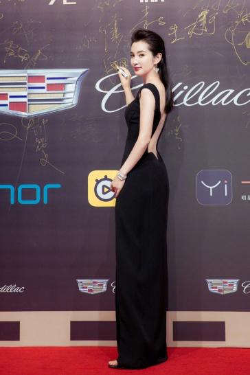 Li Bing bing in Versace Spring 2018-2