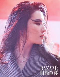 Liu Yifei for Harper's Bazaar China July 2018-7