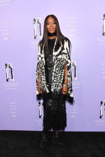Naomi Campbell in Alexander McQueen Fall 2018-2