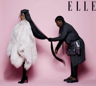 Nicki Minaj for ELLE US July 2018-2