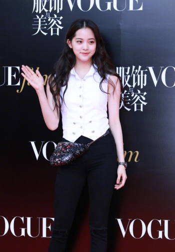 Ou Yang Nana in Chanel Pre-Fall 2018-1