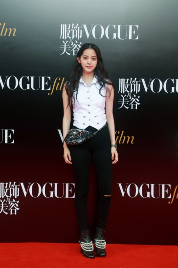Ou Yang Nana in Chanel Pre-Fall 2018