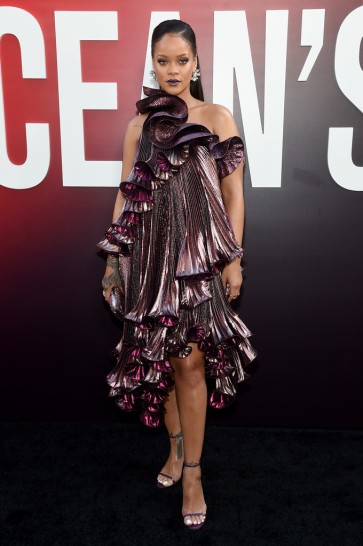 Rihanna in Givenchy Fall 2018