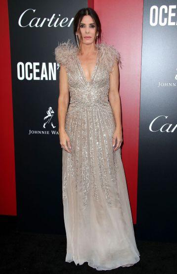 Sandra Bullock in Elie Saab Spring 2018 Couture