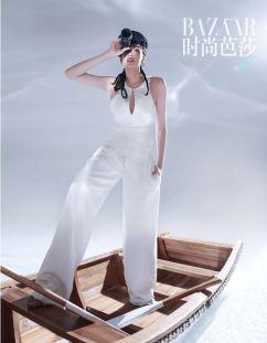 Shu Qi for Harper's Bazaar China July 2018-2