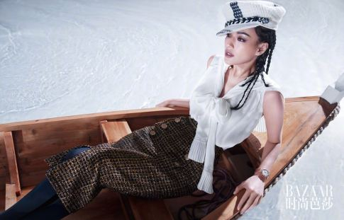 Shu Qi for Harper's Bazaar China July 2018-7