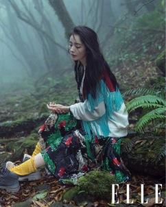 Yang Mi for ELLE China July 2018-1