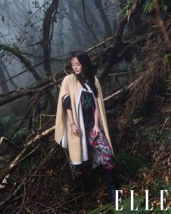 Yang Mi for ELLE China July 2018-2