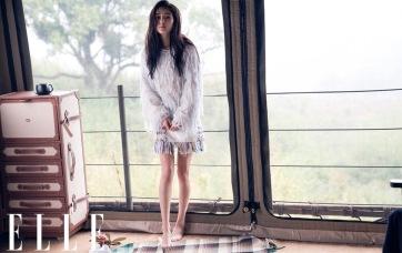 Yang Mi for ELLE China July 2018-3